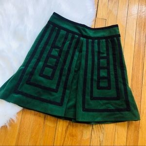 Wool blend Maeve Anthropologie skirt.